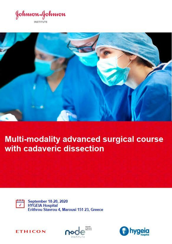 Multi-modality advanced surgical course  with cadaveric dissection